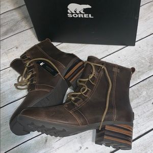 Sorel Cate Lace bootie NEW 10.5